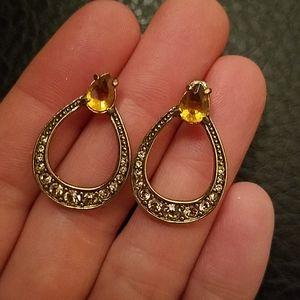 VTG Monet earrings